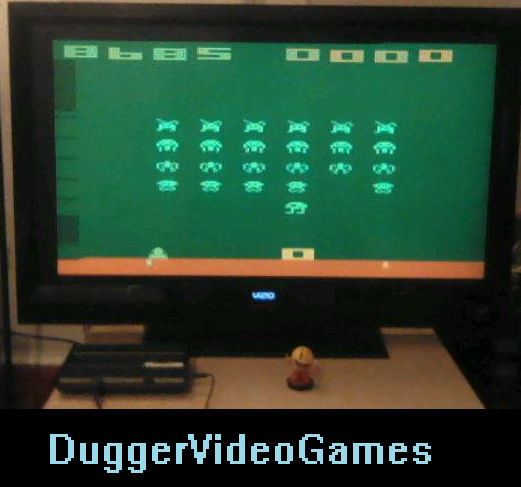 DuggerVideoGames: Space Invaders (Atari 2600 Emulated Novice/B Mode) 8,685 points on 2016-04-02 01:13:49