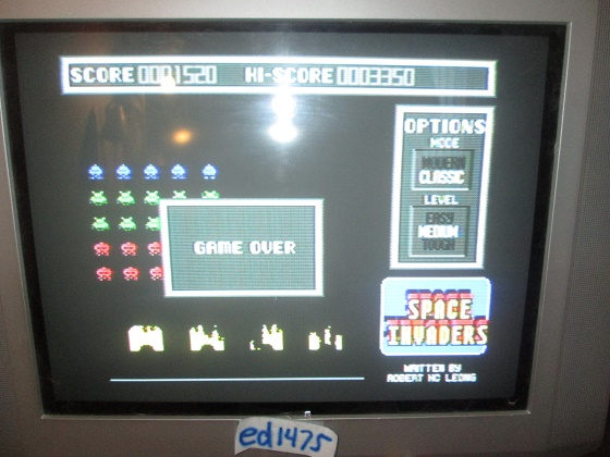 ed1475: Space Invaders [Classic/Medium] (Atari ST) 1,520 points on 2017-04-13 20:04:44