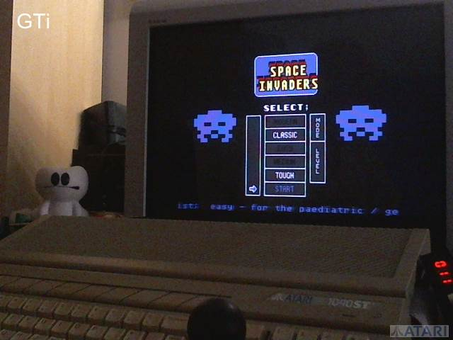GTibel: Space Invaders [Classic/Tough] (Atari ST) 2,370 points on 2017-07-13 14:34:28