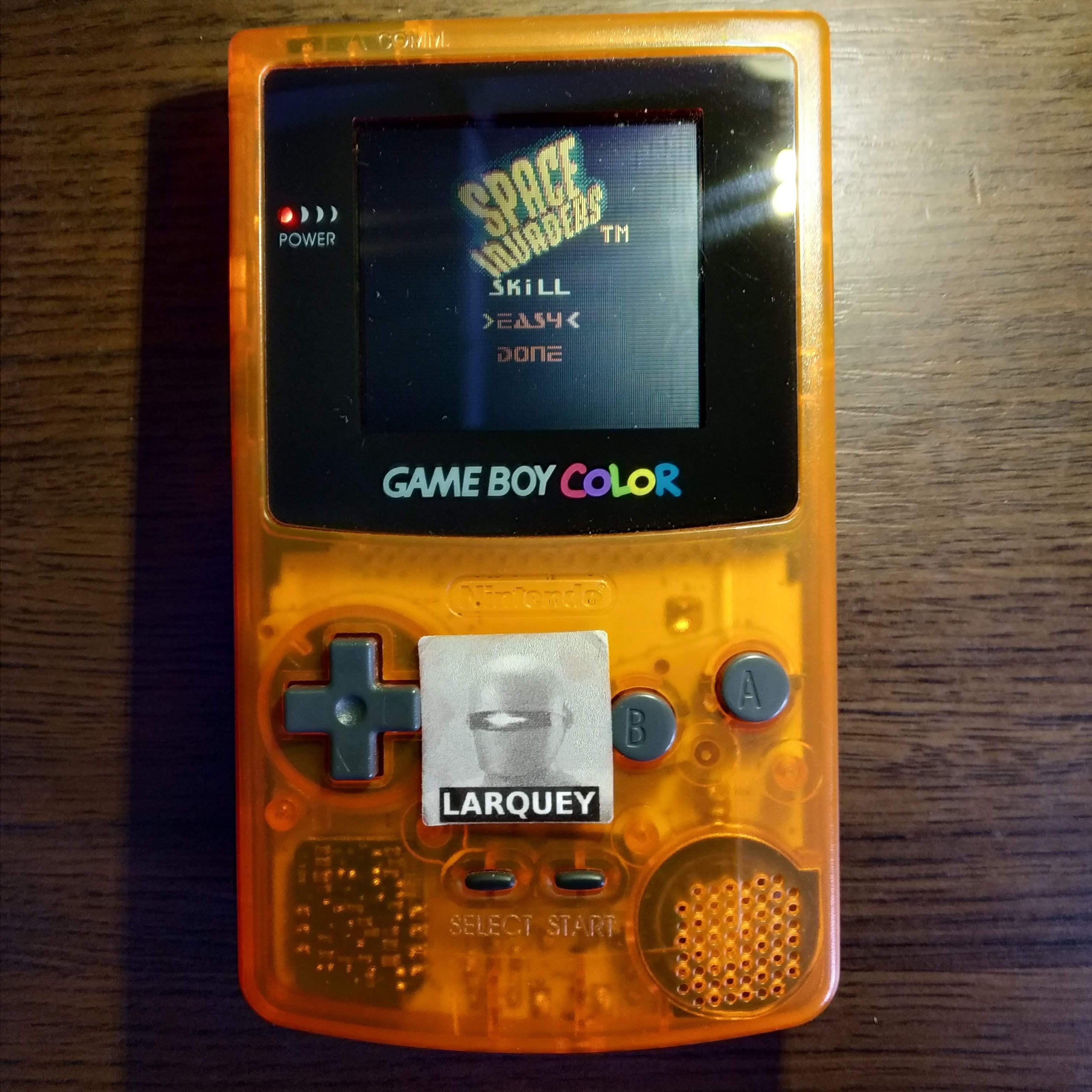 Larquey: Space Invaders [Easy] (Game Boy Color) 5,717 points on 2020-07-15 11:17:50