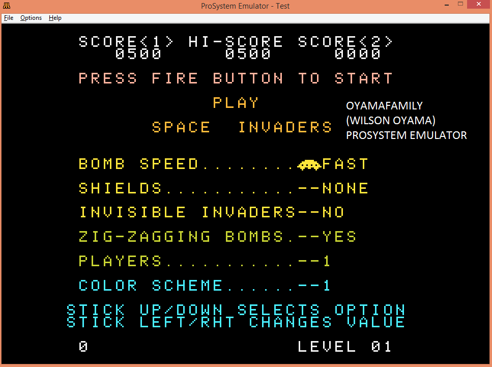 Space Invaders [Fast/No Shields/Zig-Zagging] 500 points