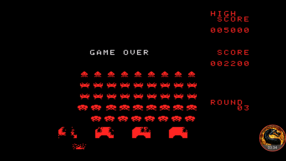 omargeddon: Space Invaders: Fukkatsu no Hi [Classic Mode] (TurboGrafx-16/PC Engine Emulated) 2,200 points on 2018-07-23 00:57:17