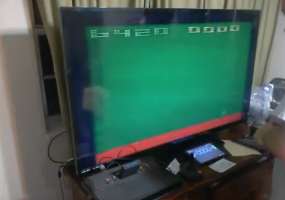 ZilchSr: Space Invaders: Game 10 (Atari 2600 Expert/A) 6,420 points on 2019-05-14 22:40:22