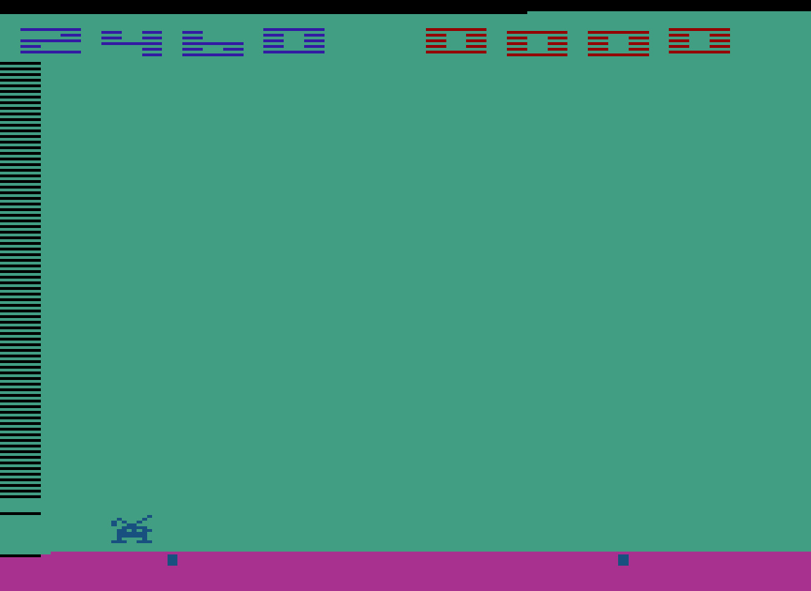 TheTrickster: Space Invaders: Game 10 (Atari 2600 Emulated Novice/B Mode) 2,460 points on 2016-07-30 04:39:31
