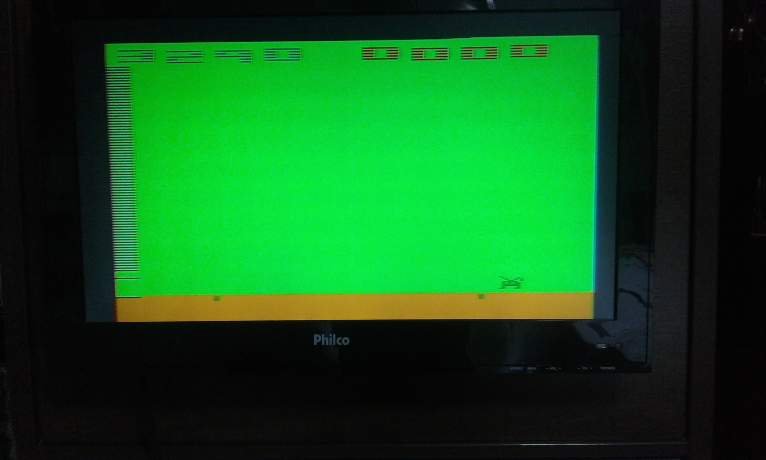 oyamafamily: Space Invaders: Game 11 (Atari 2600 Expert/A) 3,290 points on 2017-11-24 17:15:45