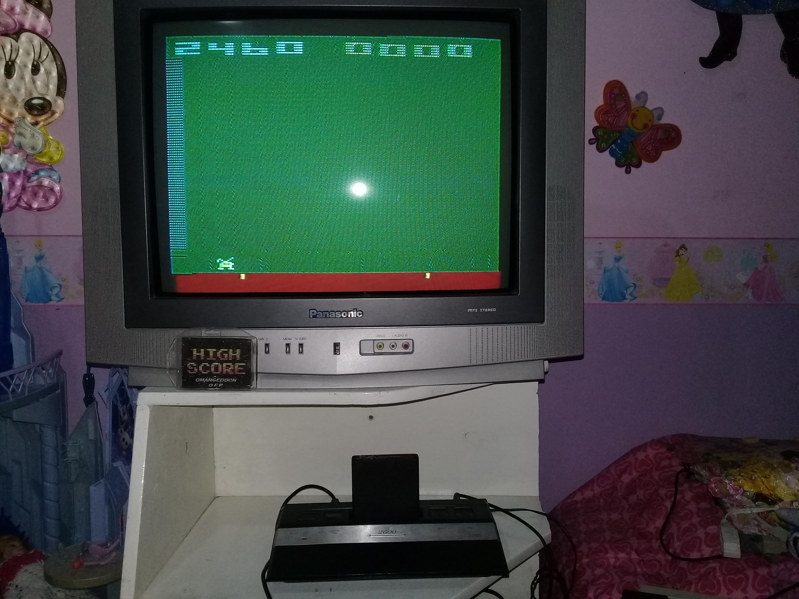 omargeddon: Space Invaders: Game 11 (Atari 2600 Novice/B) 2,460 points on 2019-05-22 20:14:14