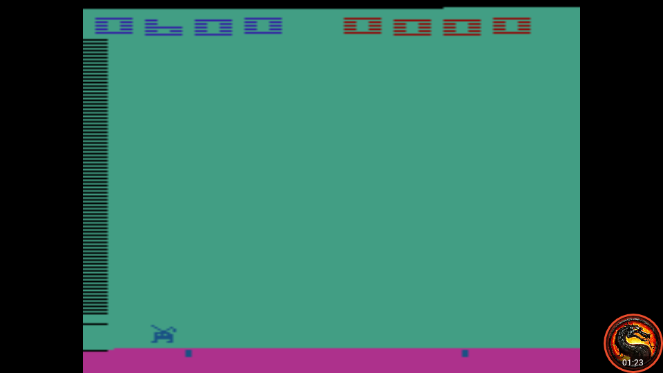 omargeddon: Space Invaders: Game 11 (Atari 2600 Emulated Novice/B Mode) 600 points on 2020-07-06 00:15:31