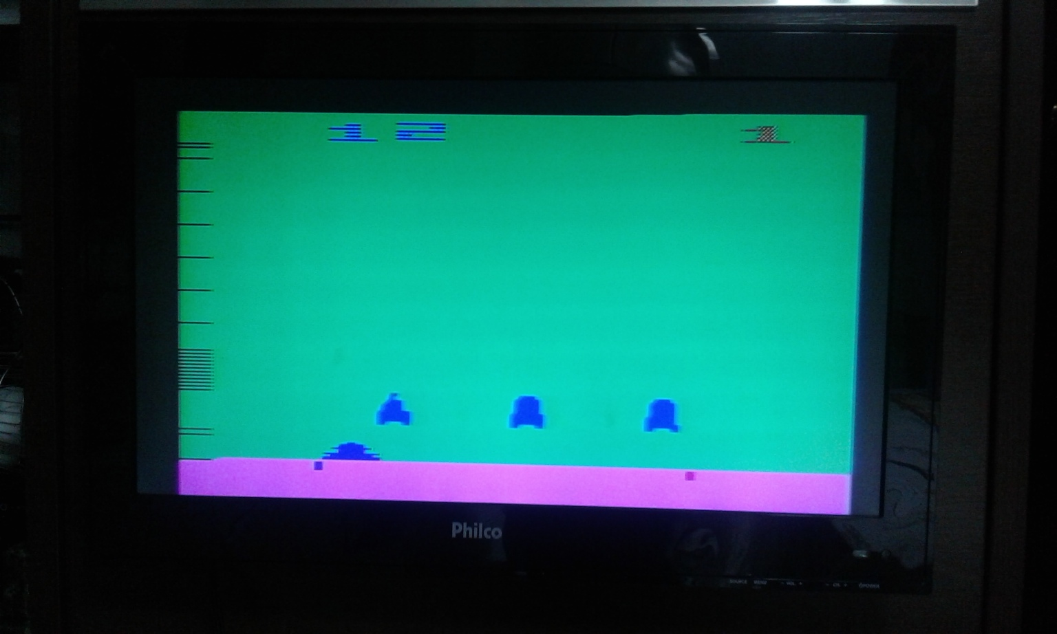 oyamafamily: Space Invaders: Game 12 (Atari 2600 Expert/A) 1,925 points on 2017-11-24 17:17:07