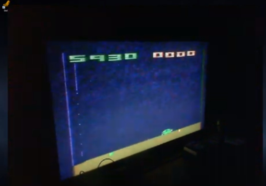 ZilchSr: Space Invaders: Game 12 (Atari 2600 Expert/A) 5,930 points on 2019-05-14 22:50:04
