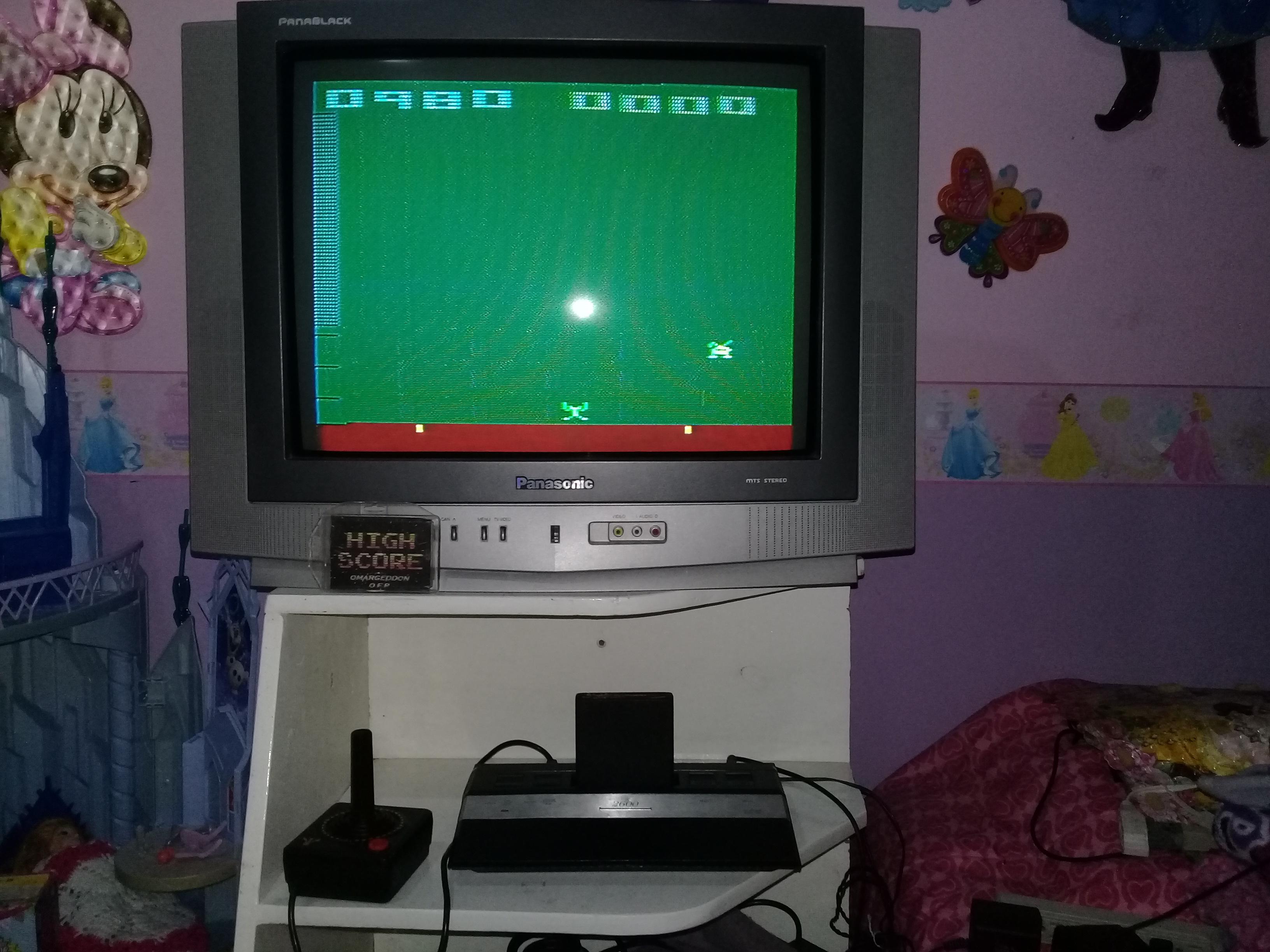 omargeddon: Space Invaders: Game 12 (Atari 2600 Novice/B) 980 points on 2019-05-22 20:17:48