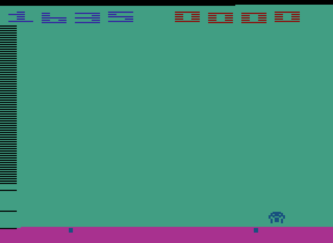 TheTrickster: Space Invaders: Game 12 (Atari 2600 Emulated Novice/B Mode) 1,635 points on 2016-07-30 04:42:01