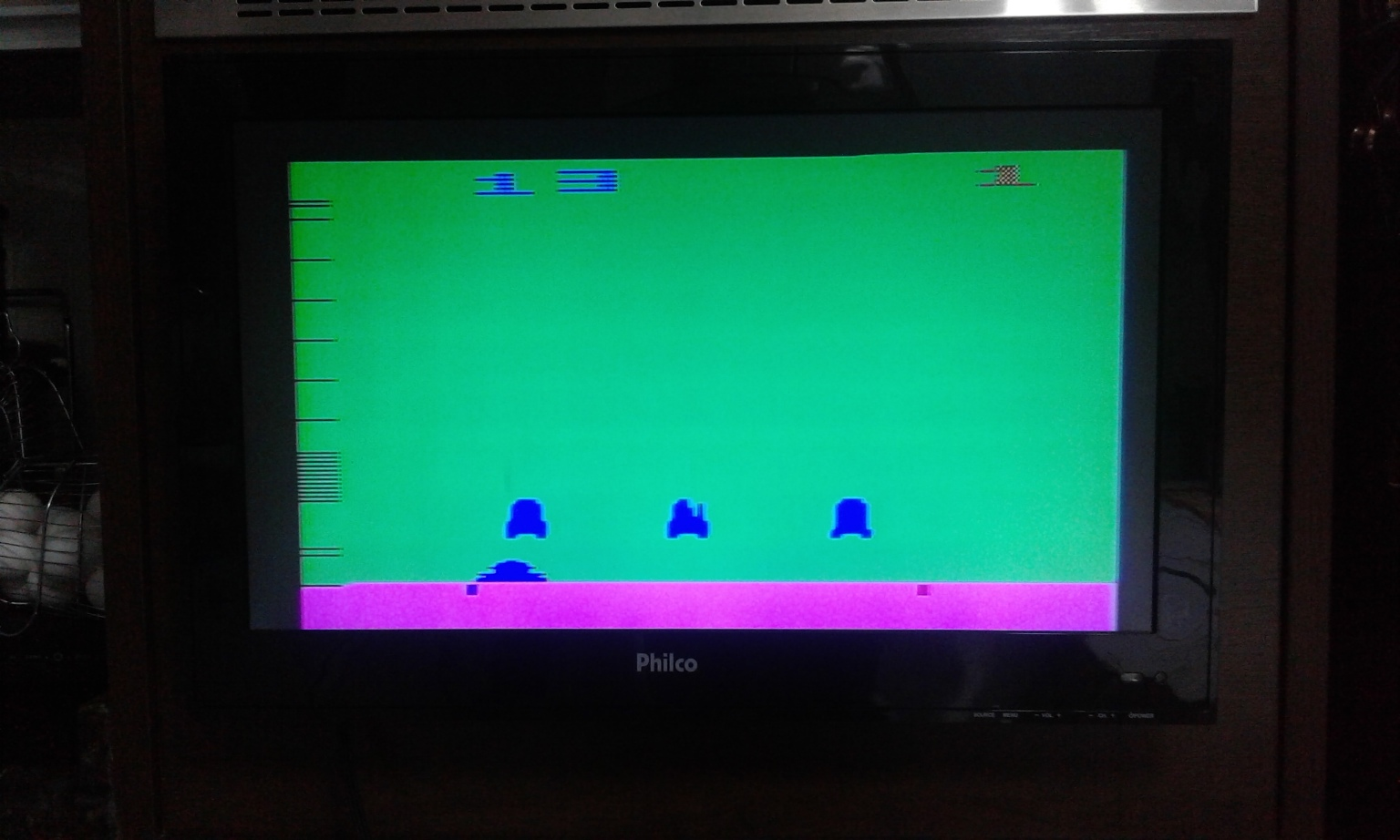 oyamafamily: Space Invaders: Game 13 (Atari 2600 Expert/A) 290 points on 2017-11-24 17:18:46