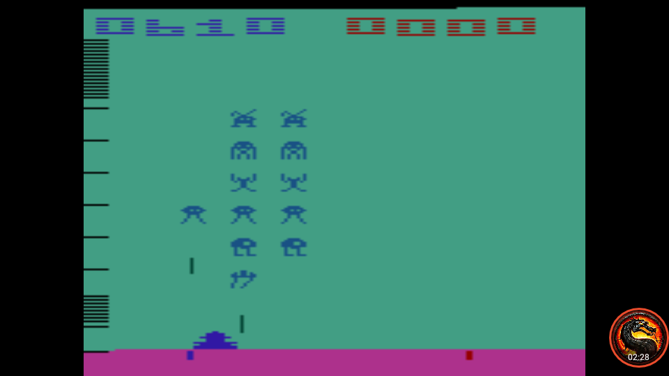 omargeddon: Space Invaders: Game 13 (Atari 2600 Emulated Expert/A Mode) 610 points on 2020-06-15 20:21:42