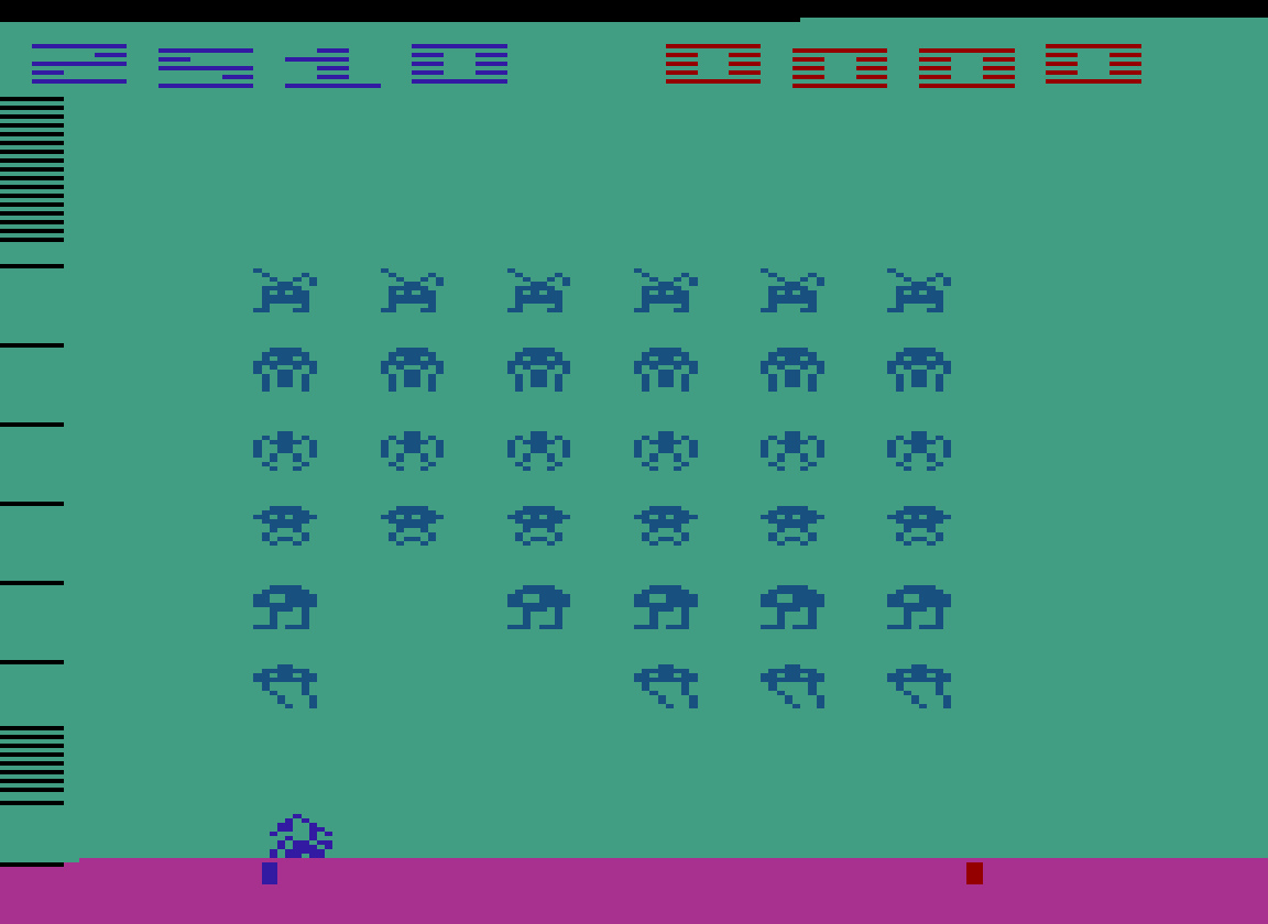 TheTrickster: Space Invaders: Game 13 (Atari 2600 Emulated Novice/B Mode) 2,510 points on 2016-07-30 04:43:06