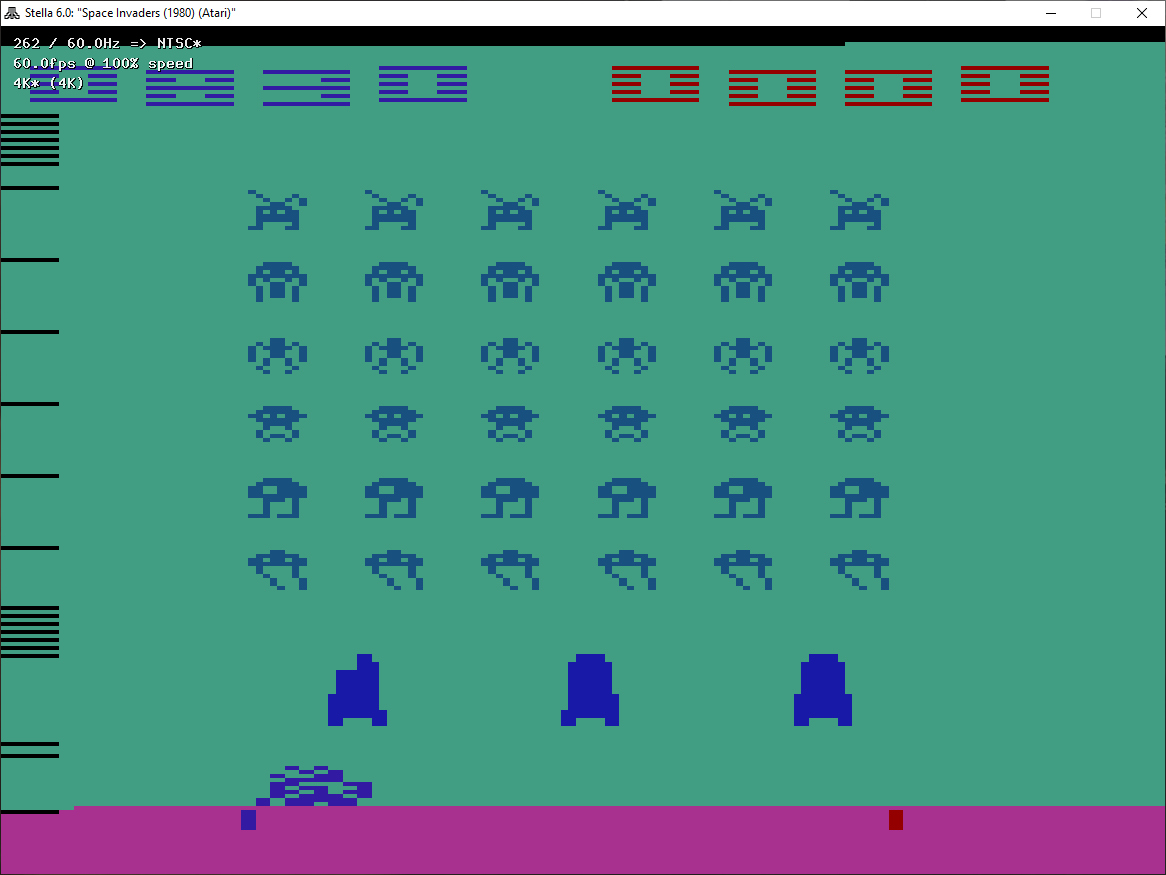 Space Invaders: Game 14 830 points