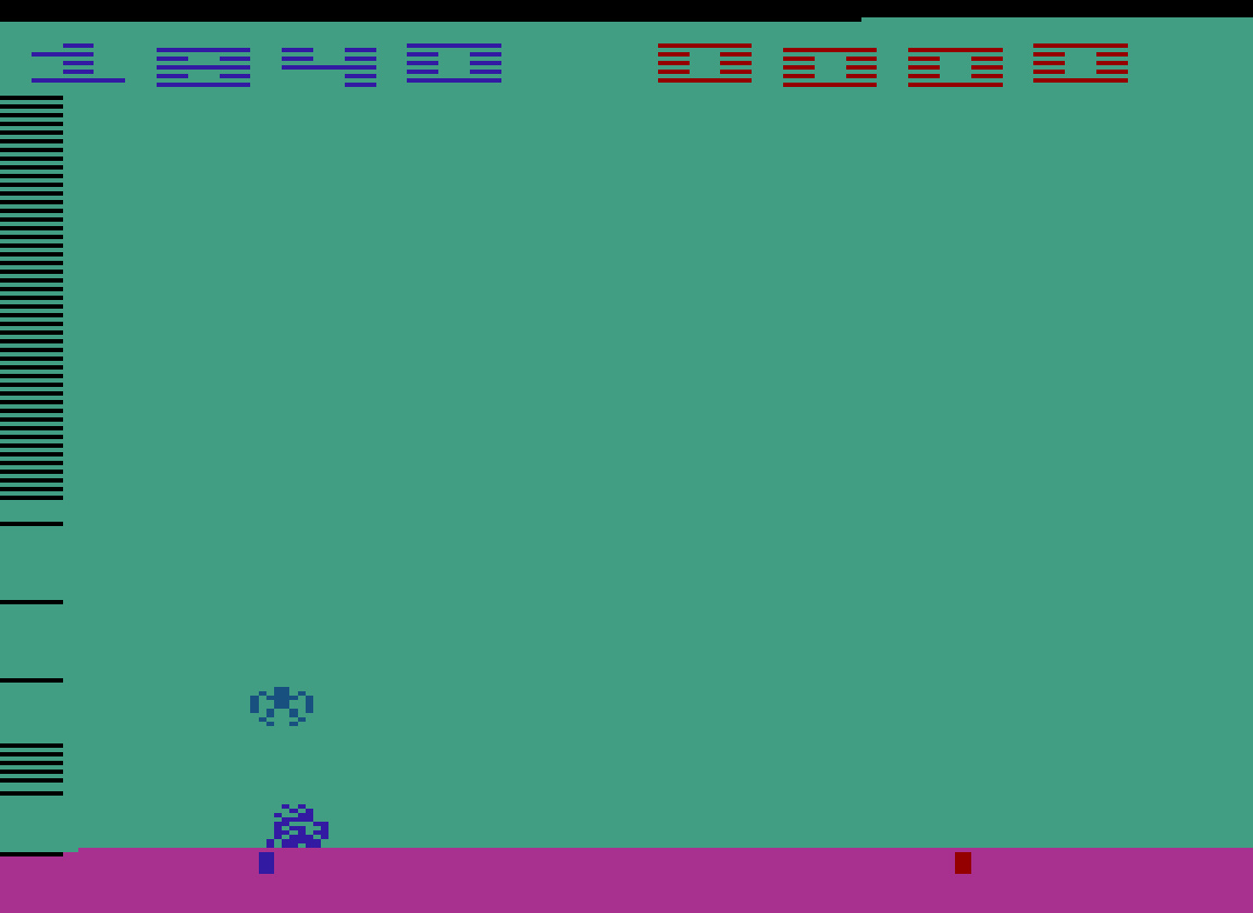 TheTrickster: Space Invaders: Game 16 (Atari 2600 Emulated Novice/B Mode) 1,840 points on 2016-07-30 04:45:55