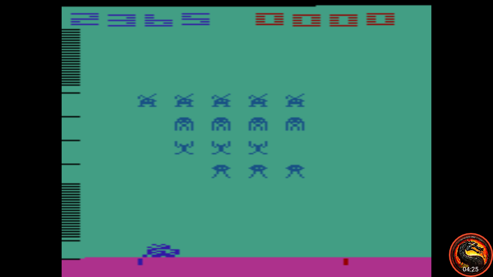 omargeddon: Space Invaders: Game 3 (Atari 2600 Emulated Expert/A Mode) 2,365 points on 2020-07-12 16:04:51