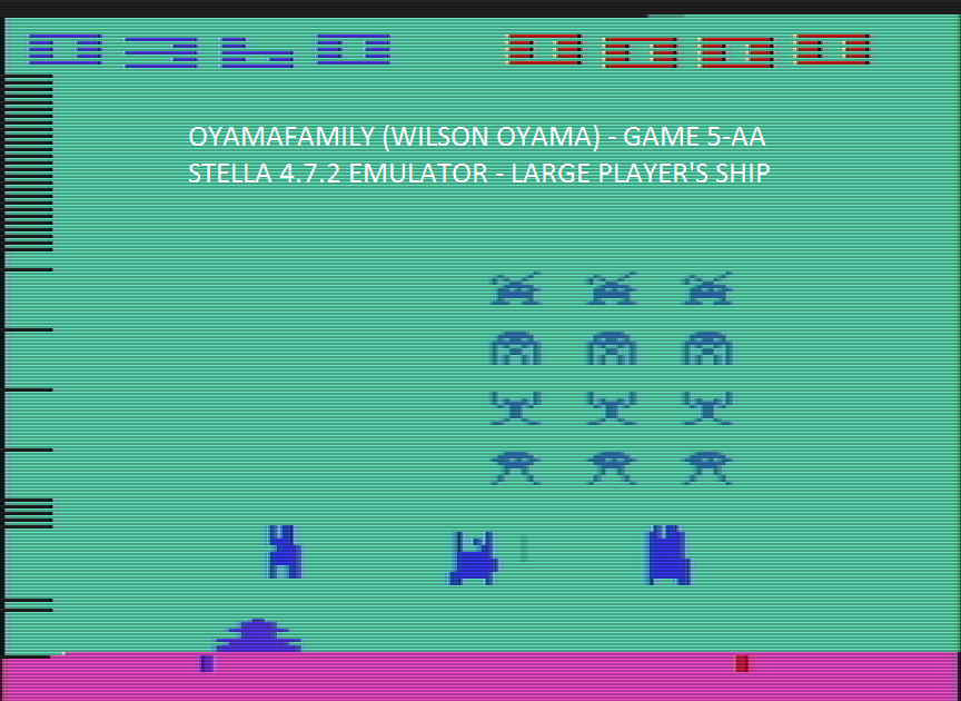Space Invaders: Game 5 360 points