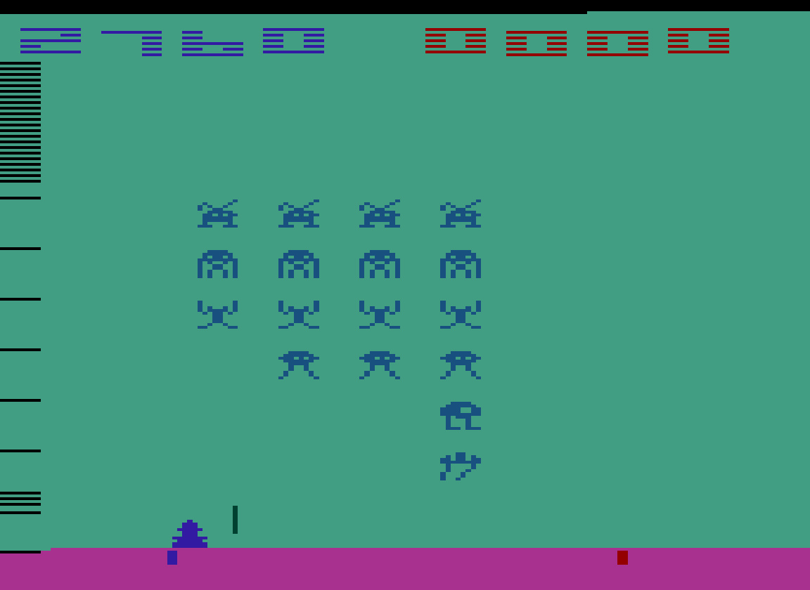 TheTrickster: Space Invaders: Game 5 (Atari 2600 Emulated Novice/B Mode) 2,760 points on 2016-07-15 04:53:56