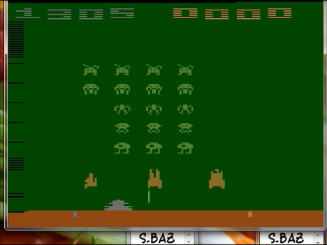 Space Invaders: Game 6 1,305 points