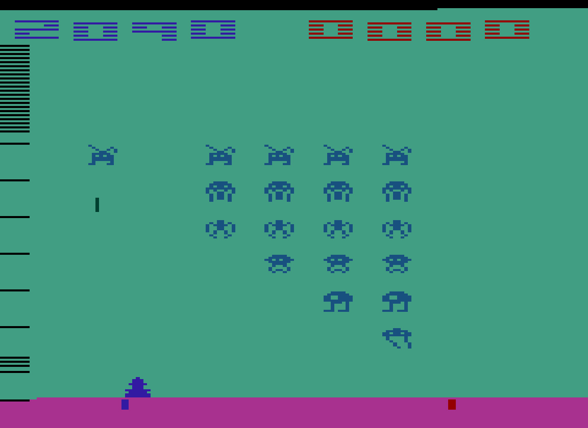 TheTrickster: Space Invaders: Game 7 (Atari 2600 Emulated Novice/B Mode) 2,090 points on 2016-07-15 04:55:21