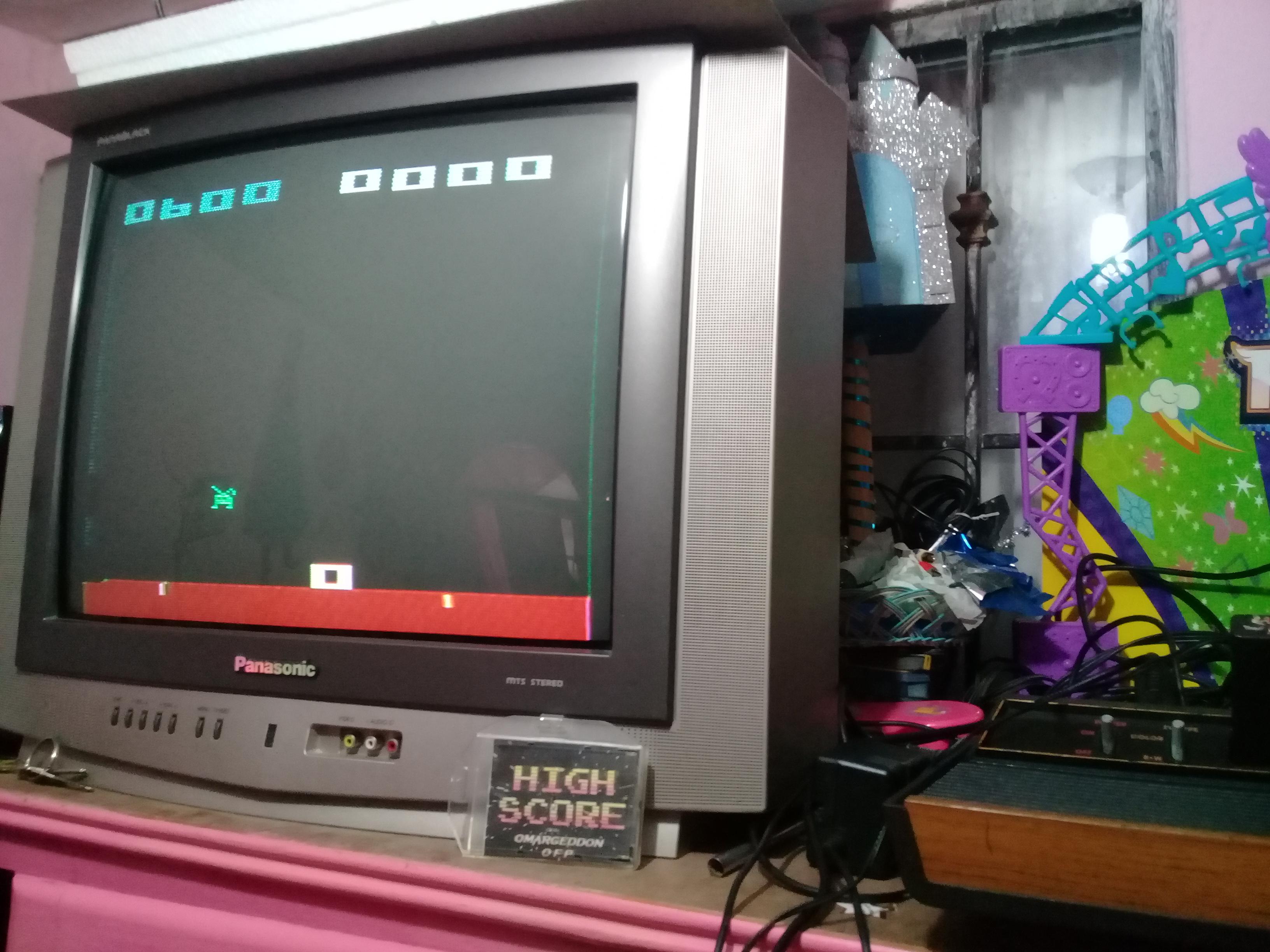 omargeddon: Space Invaders: Game 8 (Atari 2600 Novice/B) 600 points on 2019-01-14 09:19:58