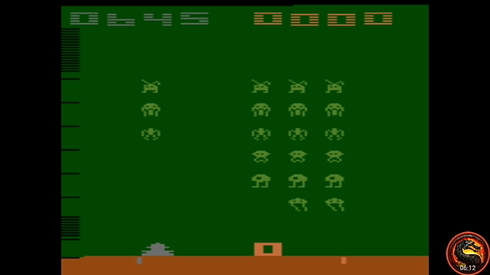 omargeddon: Space Invaders: Game 8 (Atari 2600 Emulated Expert/A Mode) 645 points on 2020-07-13 21:44:25
