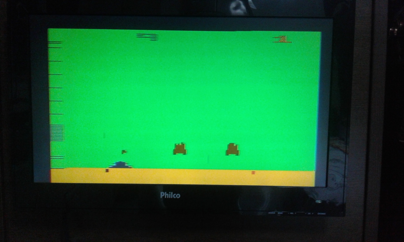 oyamafamily: Space Invaders: Game 9 (Atari 2600 Expert/A) 3,860 points on 2017-11-24 17:13:27