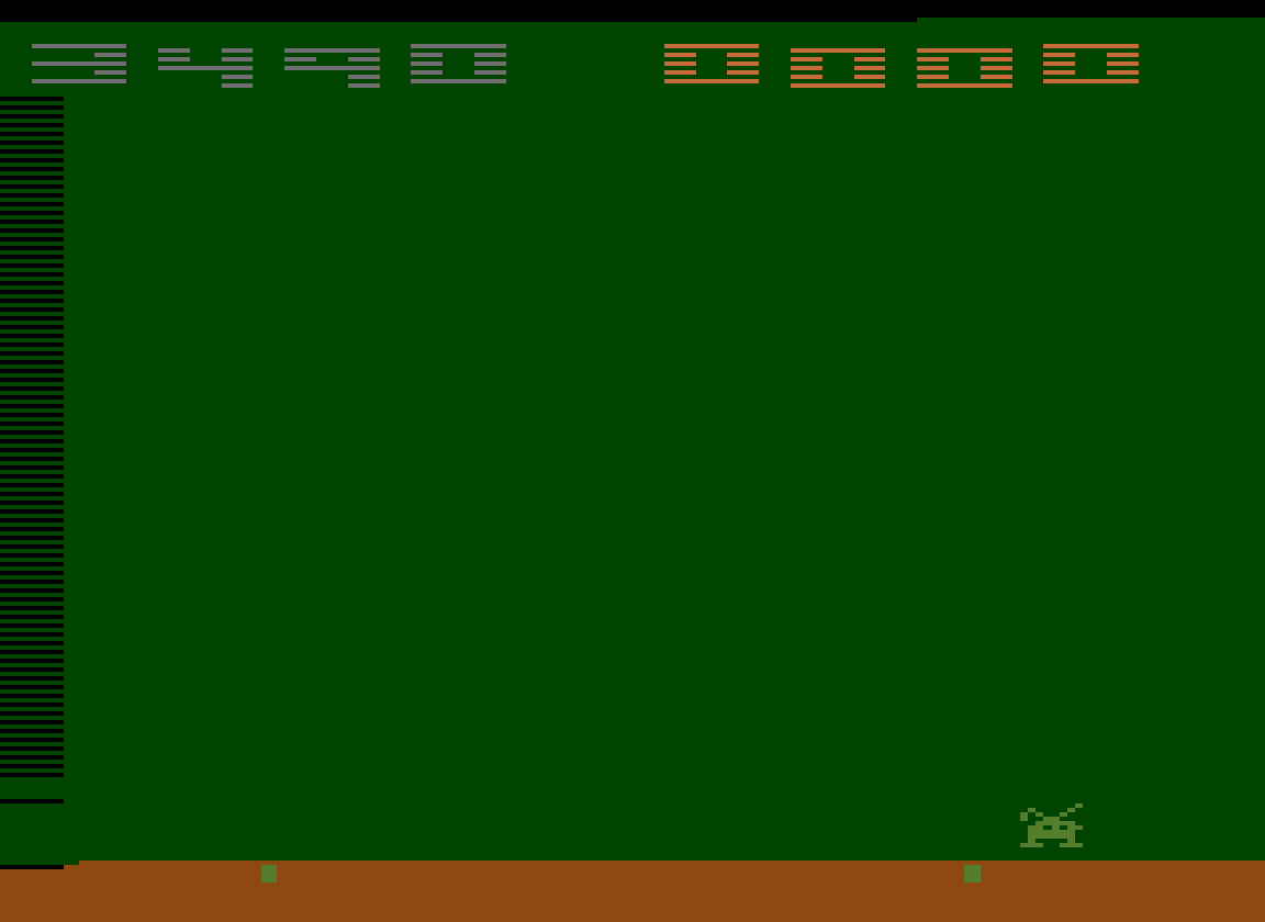 TheTrickster: Space Invaders: Game 9 (Atari 2600 Emulated Novice/B Mode) 3,490 points on 2016-07-15 04:57:33