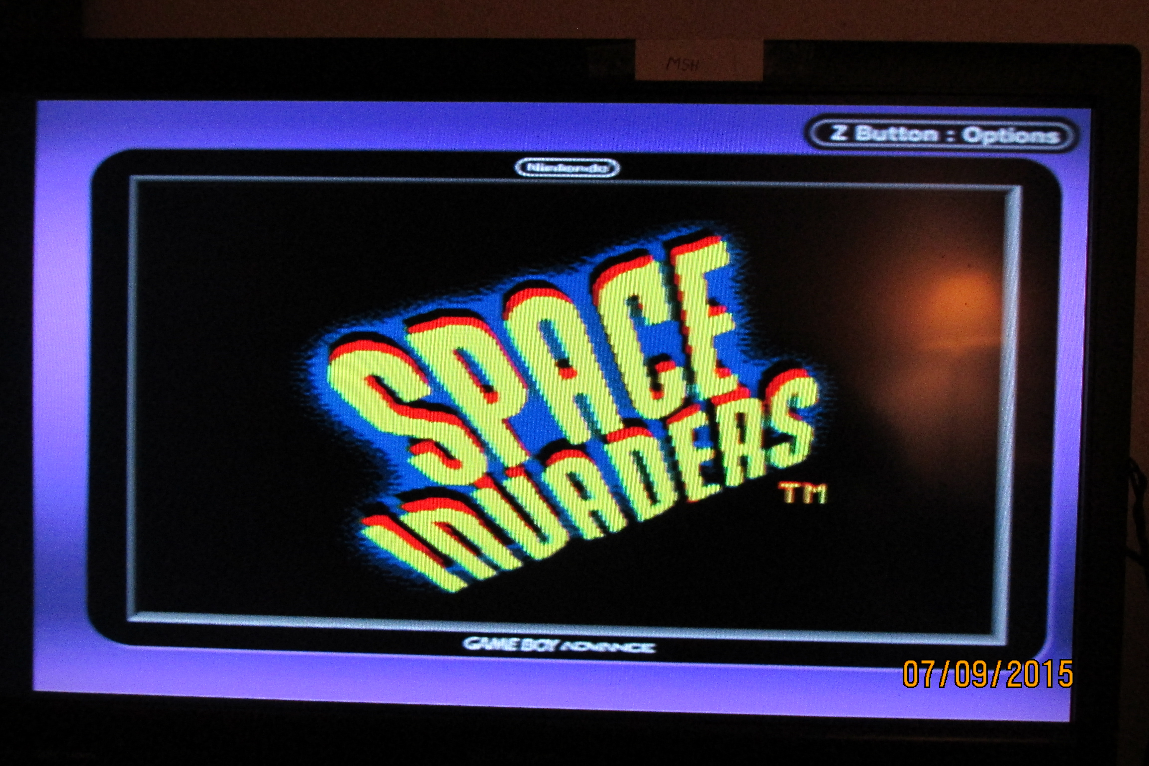 Mark: Space Invaders (Game Boy Color) 2,233 points on 2015-07-10 18:03:46