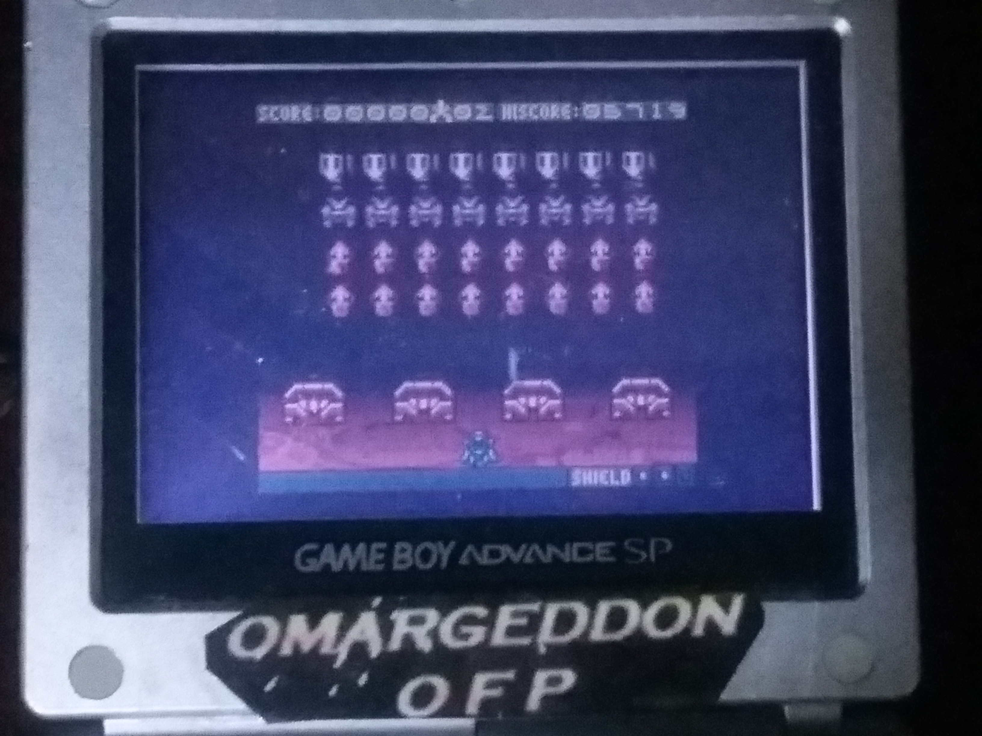 omargeddon: Space Invaders (Game Boy Color) 5,719 points on 2018-01-13 19:37:09