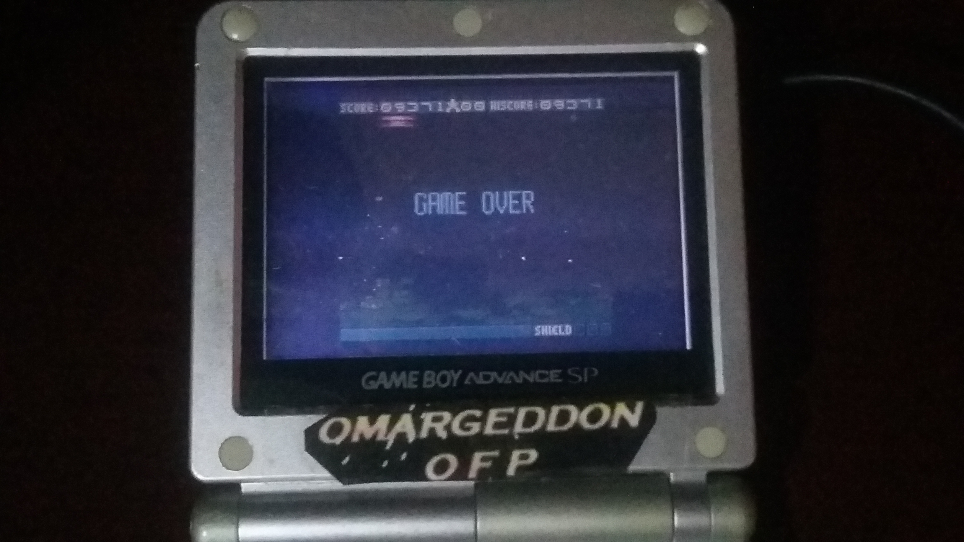 omargeddon: Space Invaders (Game Boy Color) 9,371 points on 2018-09-23 17:06:17