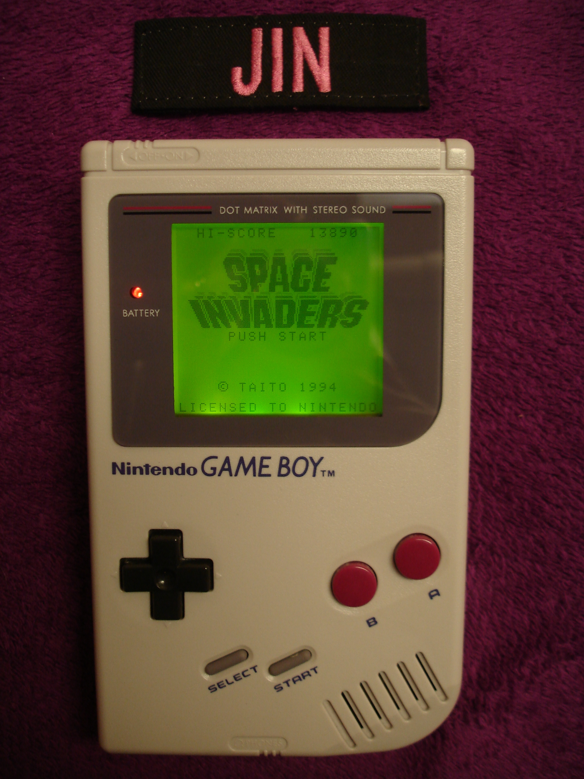 Jin: Space Invaders (Game Boy) 13,890 points on 2017-07-31 13:10:53