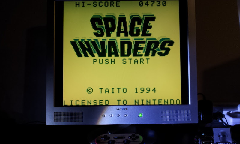 Larquey: Space Invaders (Game Boy Emulated) 4,730 points on 2017-10-24 12:42:46