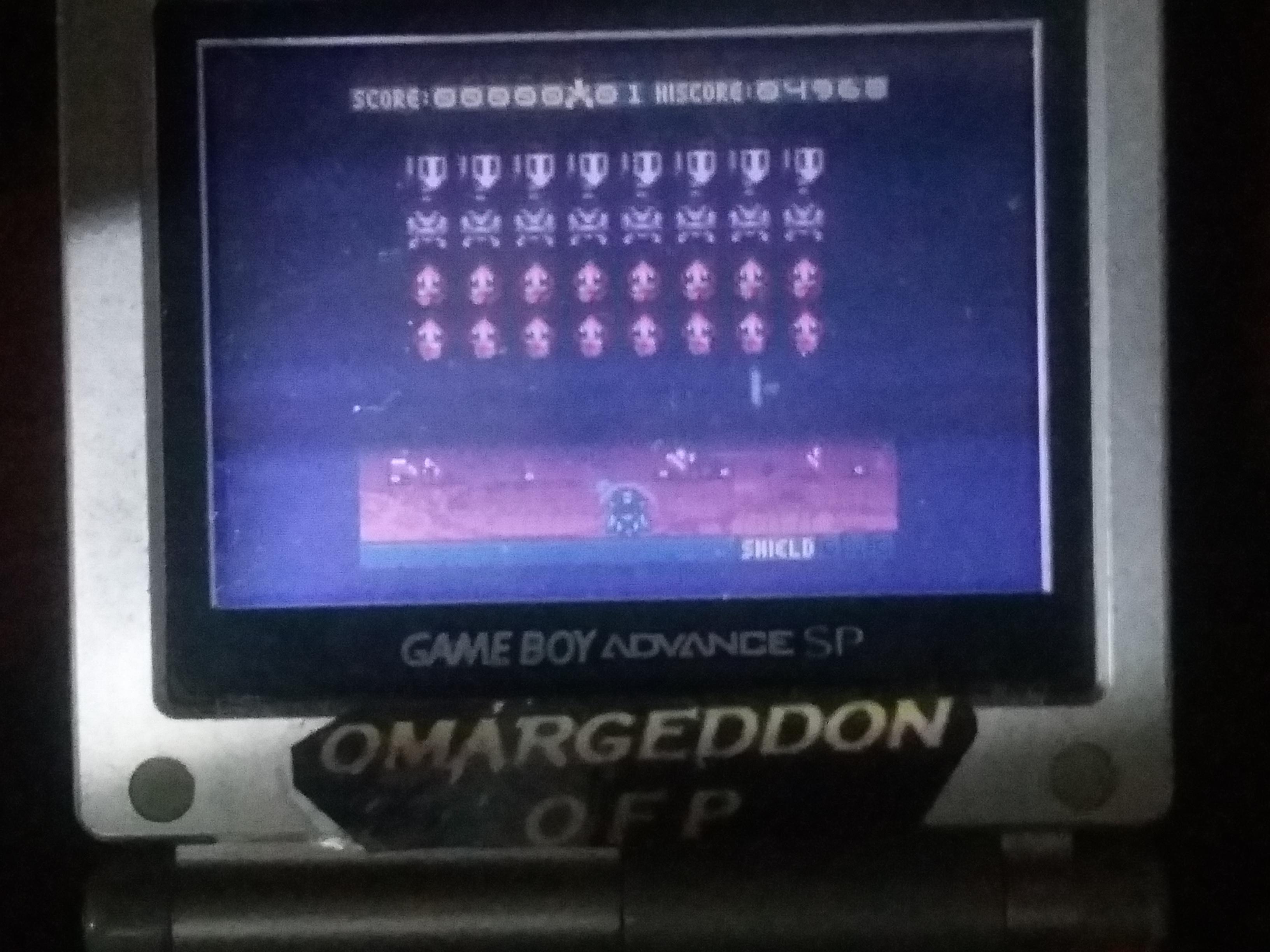 omargeddon: Space Invaders [Hard] (Game Boy Color) 4,968 points on 2018-02-28 20:05:18