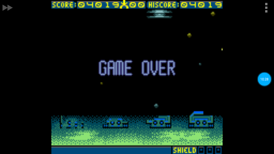 omargeddon: Space Invaders [Hard] (Game Boy Color Emulated) 4,019 points on 2018-06-30 10:13:51