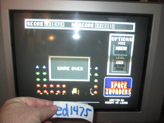ed1475: Space Invaders [Modern/Easy] (Atari ST) 3,090 points on 2017-04-13 19:50:39