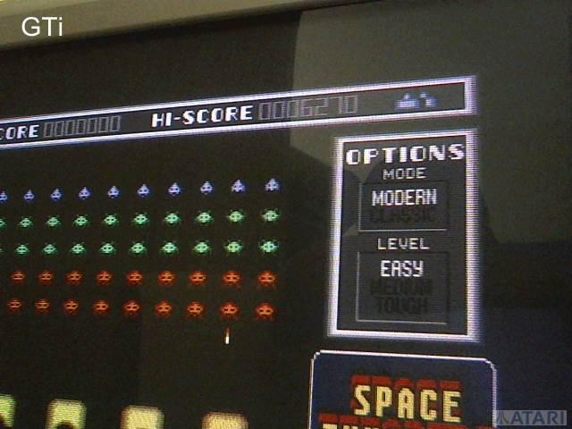 GTibel: Space Invaders [Modern/Easy] (Atari ST) 6,270 points on 2017-07-15 02:36:57