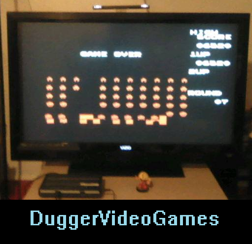 DuggerVideoGames: Space Invaders (NES/Famicom Emulated) 6,520 points on 2016-04-01 23:04:48