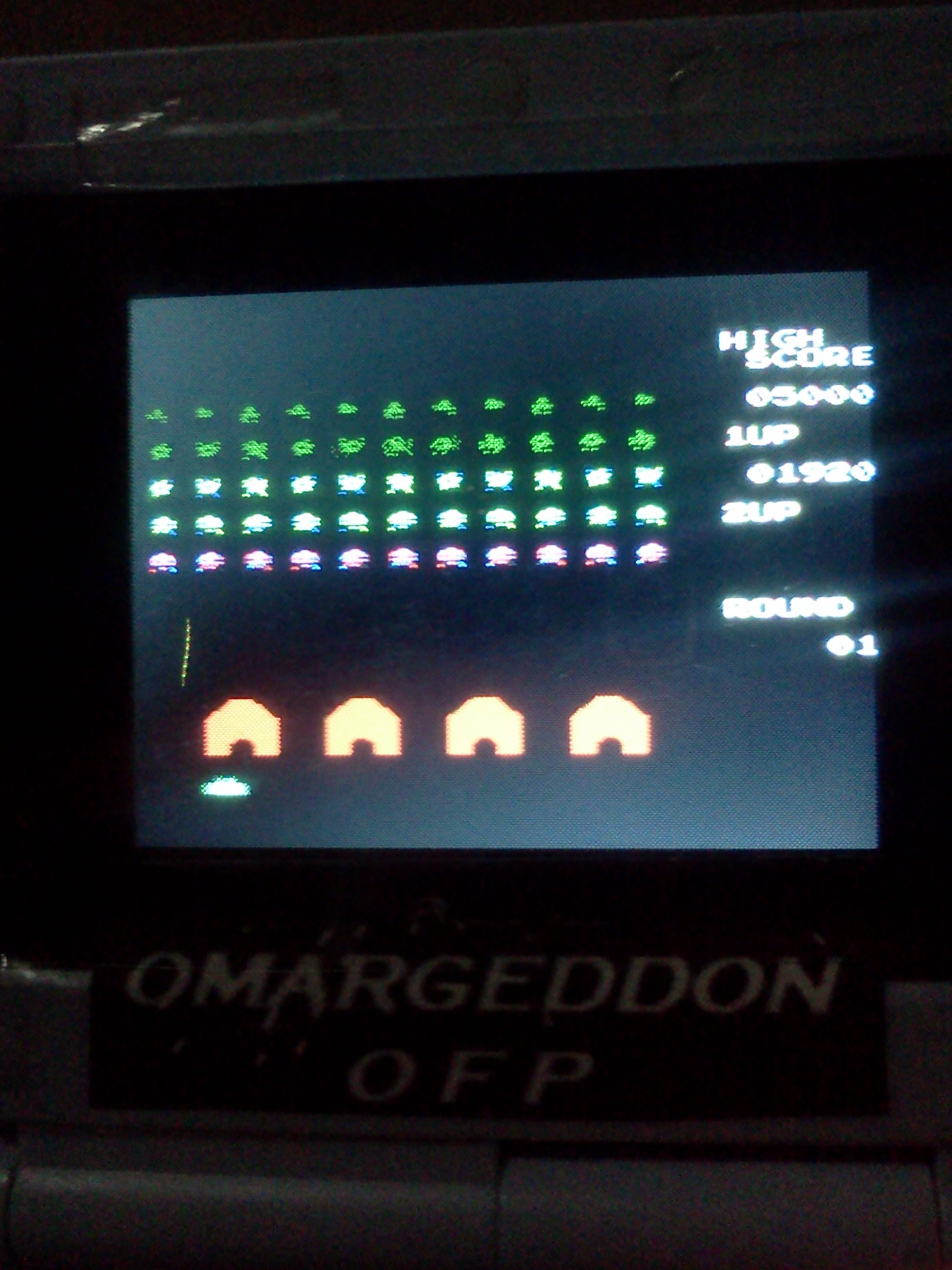 omargeddon: Space Invaders (NES/Famicom Emulated) 1,920 points on 2016-08-07 22:21:21