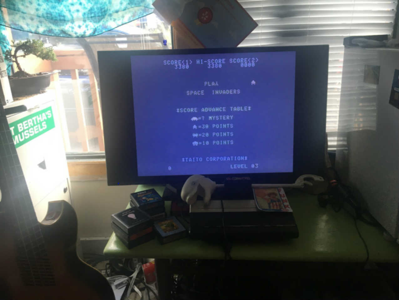 CousinVinnie: Space Invaders [Normal/Fixed Shields/Invisible] (Atari 7800) 3,380 points on 2017-10-15 14:34:13