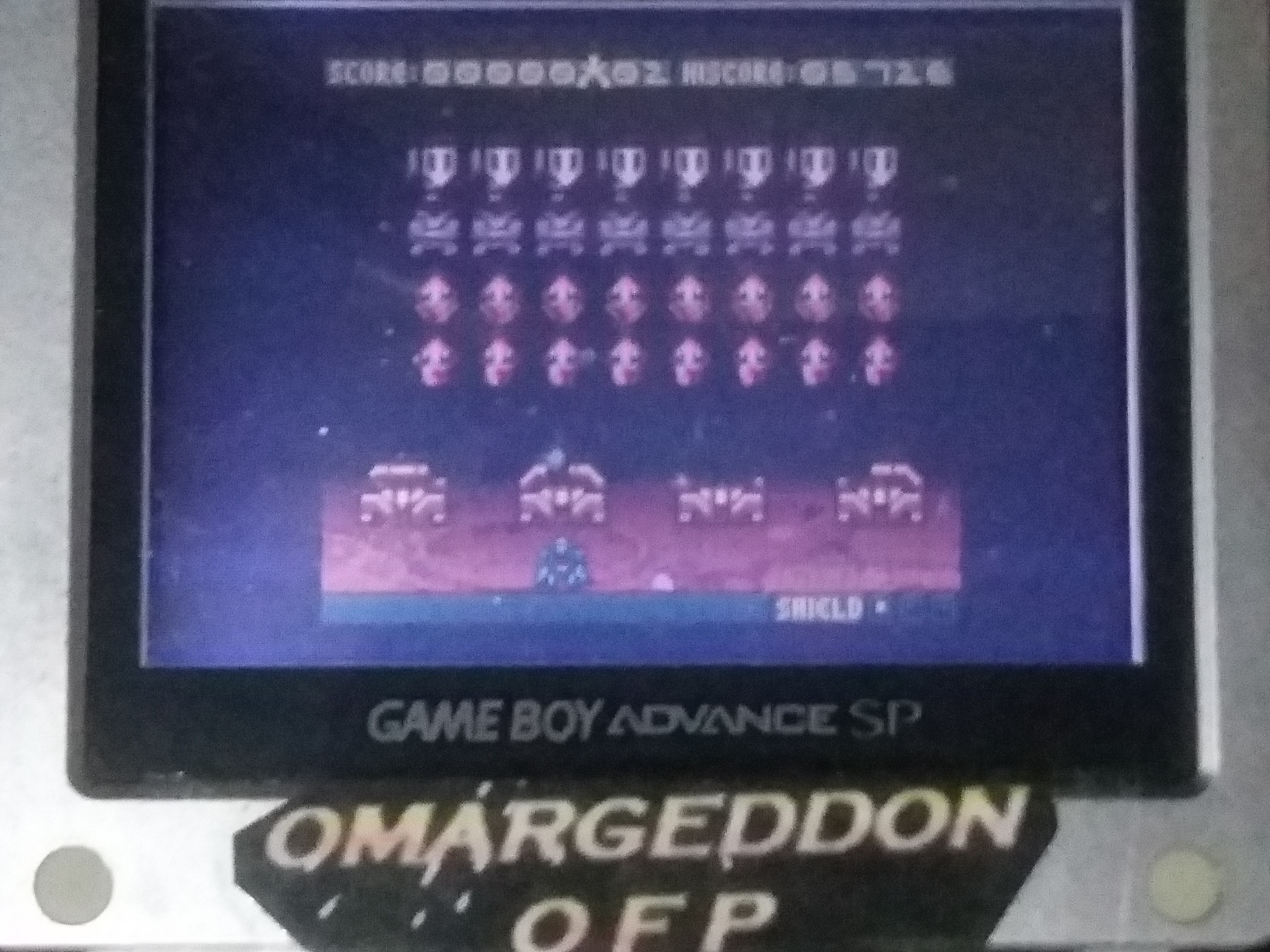 omargeddon: Space Invaders [Normal] (Game Boy Color) 5,726 points on 2018-02-28 20:26:22