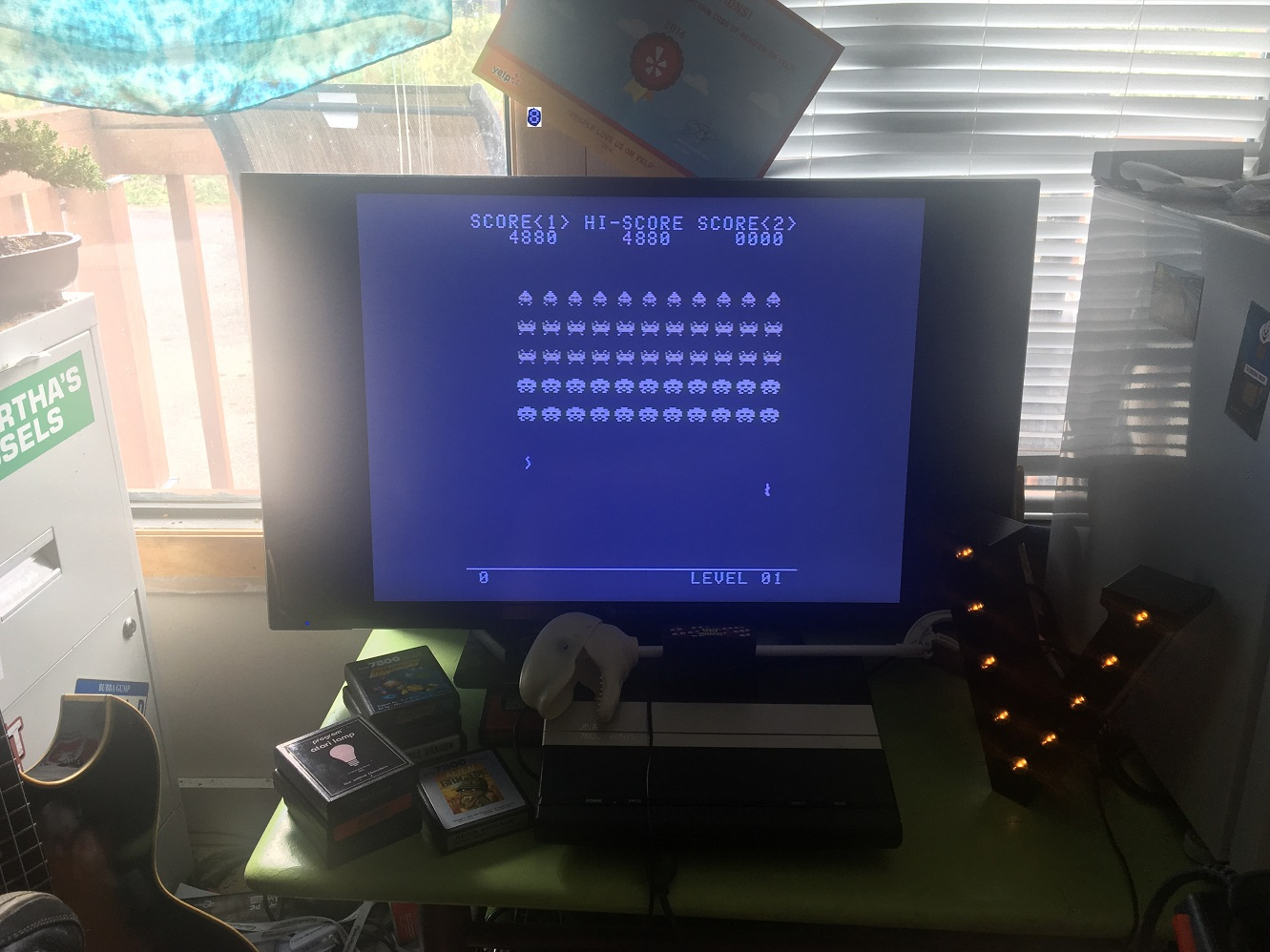 Space Invaders [Normal/No Shields] 4,880 points