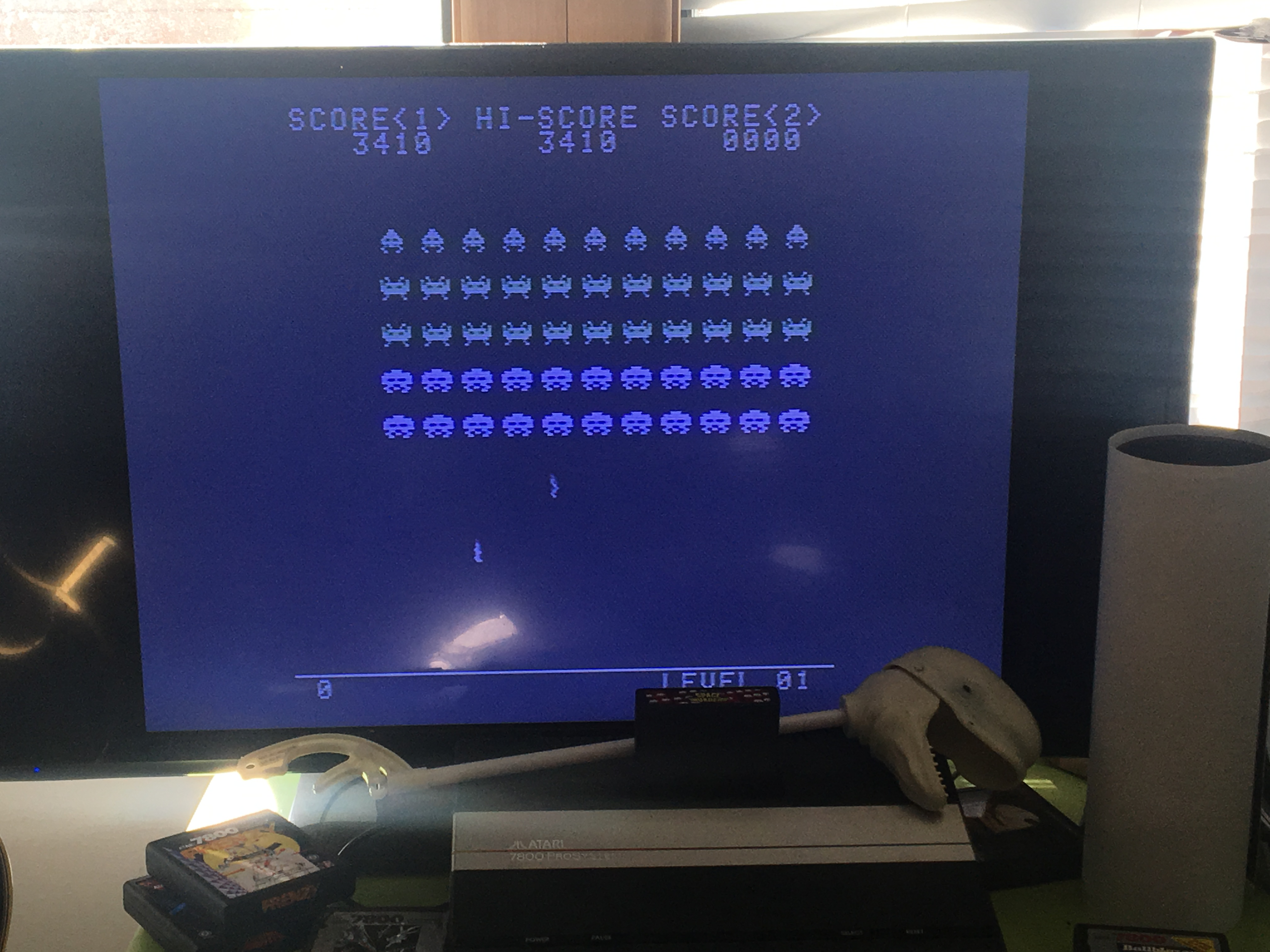 Space Invaders [Normal/No Shields/Zig-Zagging] 3,410 points