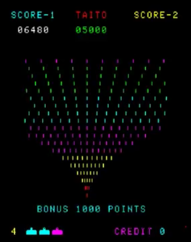 kernzy: Space Invaders Part II [invadpt2] (Arcade Emulated / M.A.M.E.) 10,690 points on 2017-10-22 07:29:52
