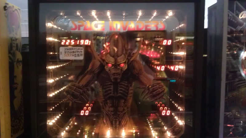 ichigokurosaki1991: Space Invaders (Pinball: 5 Balls) 225,190 points on 2016-04-09 10:03:18