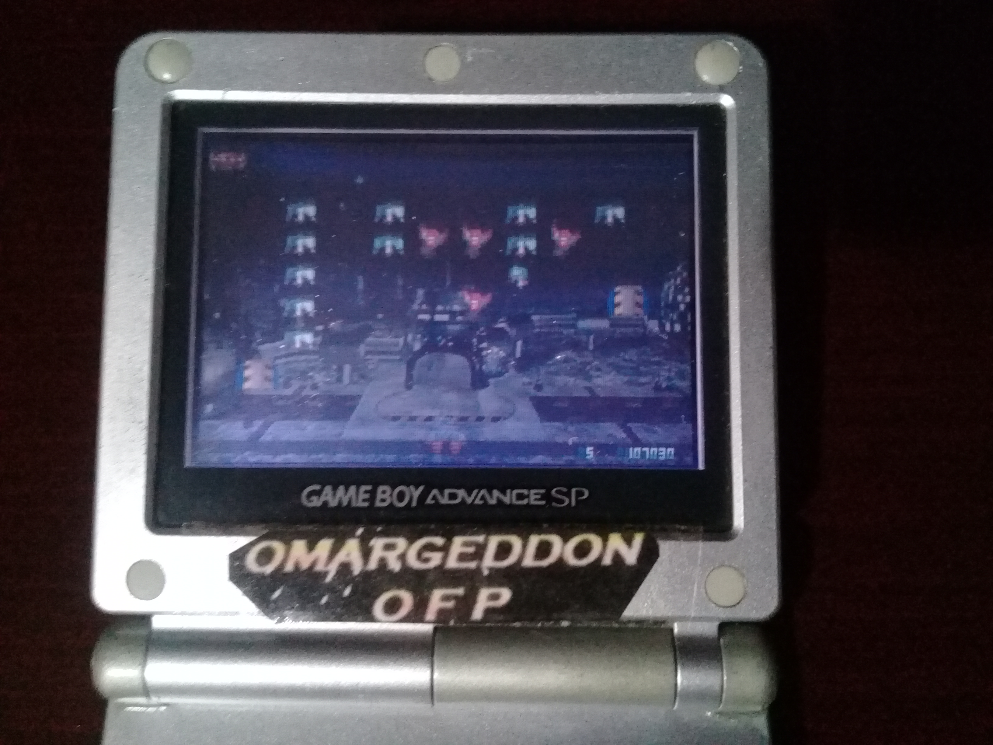 omargeddon: Space Invaders / Space Invaders EX (GBA) 107,030 points on 2019-01-23 21:08:09