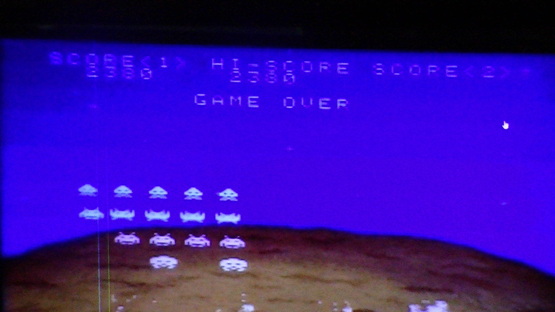 Space Invaders The Original Game 2,380 points