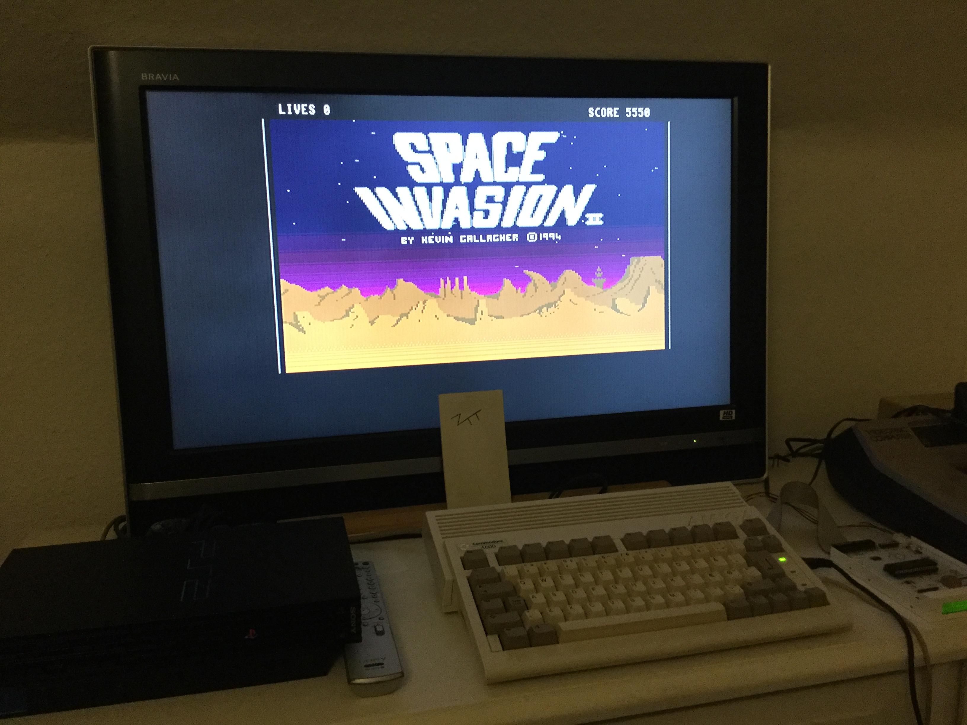 Frankie: Space Invasion II (Amiga) 5,550 points on 2017-10-20 12:41:56