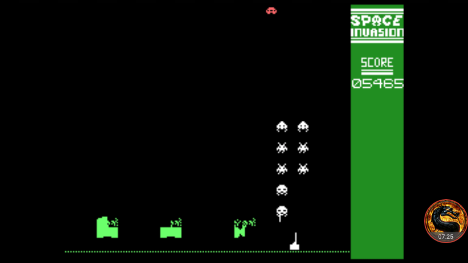 omargeddon: Space Invasion: Normal Invasion (Colecovision Emulated) 5,465 points on 2018-08-23 01:19:30